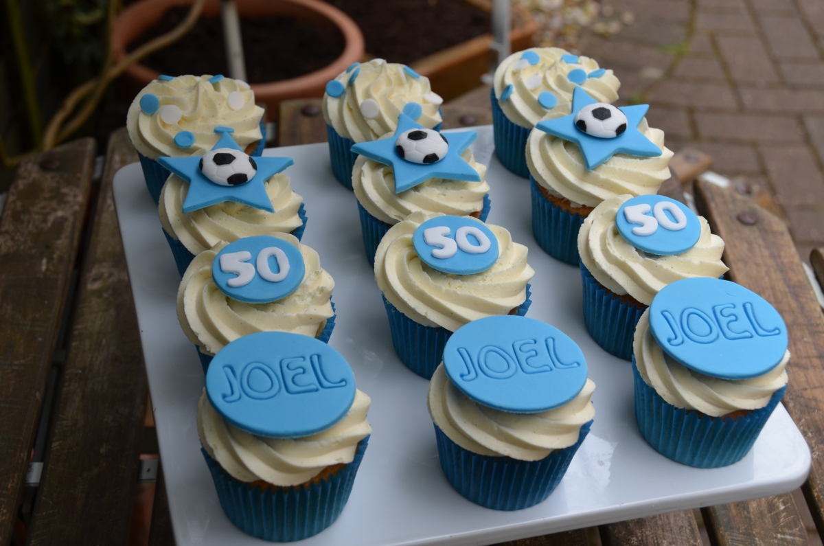 50th birthday cupcakes & 50th birthday cupcakes | Pink Lemonade Bakery