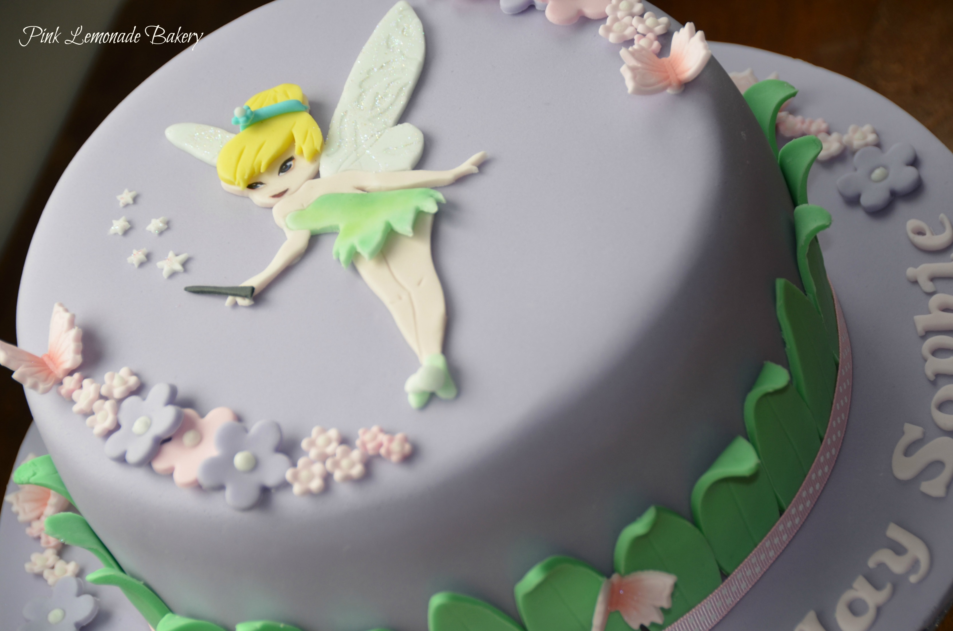 Tinkerbell Birthday Ca...