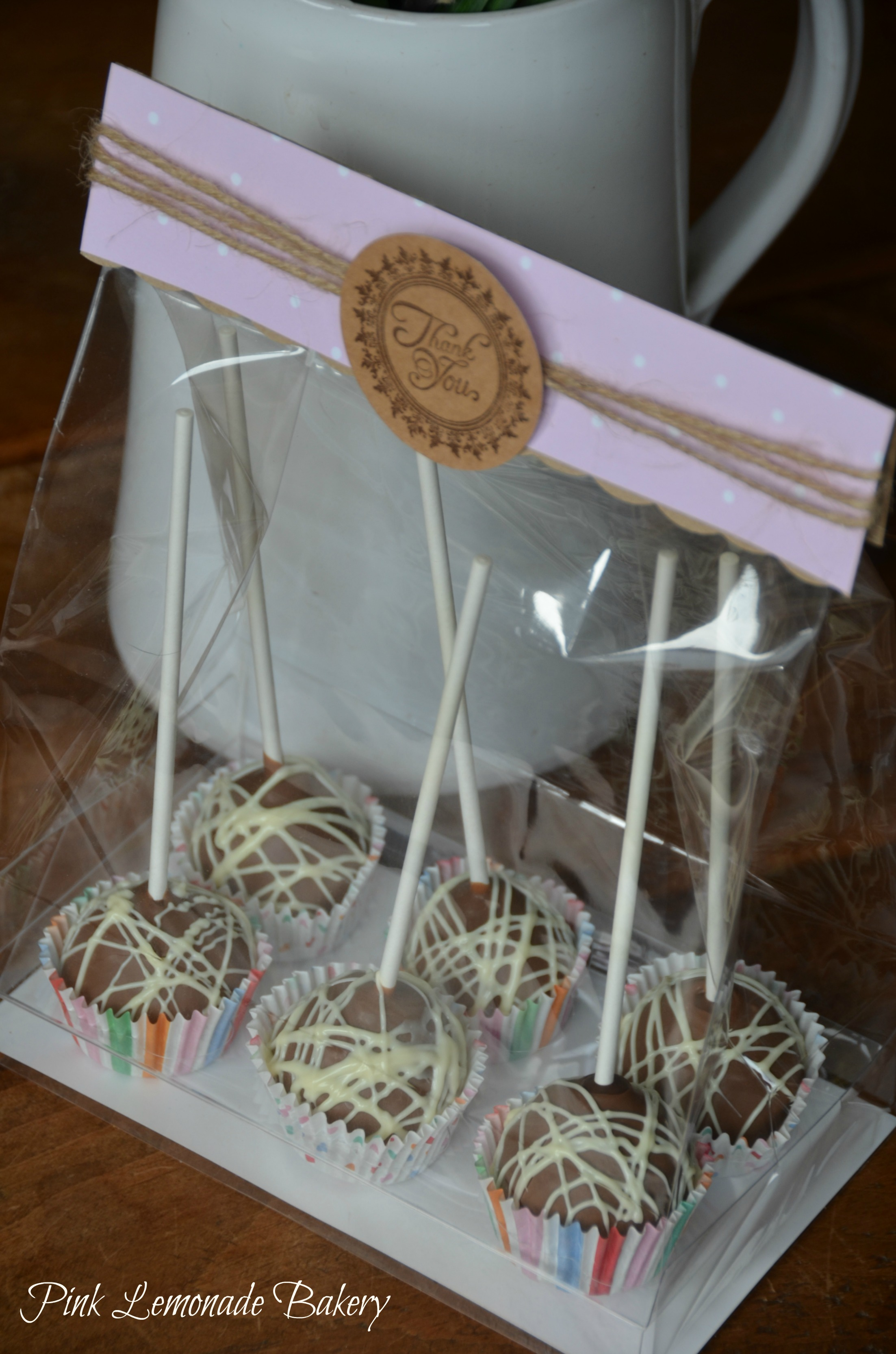 Clear Cake Pop Boxes