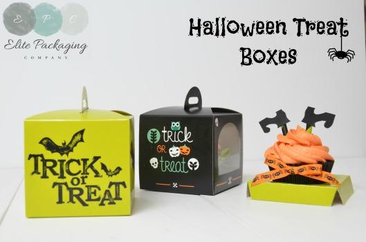 Halloween cupcake and treat Box